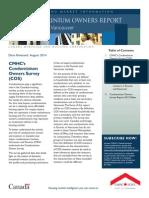 CMHC Condo Owners Survey (COS) 68161