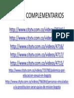 Videos Complementarios Lgtbi