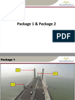 Package 1 and Package 2 Second Penang Bridge
