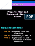 PPE Wasting Assets