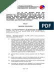IRR of RA 9295 2014 Amendments