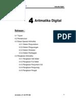 Bab 4 - Digital i - Rangkaian Aritmatika Versi210908