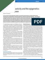 Phenotypic plasticity and the epigenetics of human disease