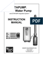 eMan-KSB ETAPUMP® Solar Water Pump Instruction Manual
