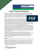 Motor Thermal Protection en-US
