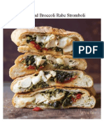 Chicken and Broccoli Rabe Stromboli Recipe