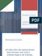 DBDD - Clase 1 - Transacciones