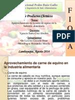 Mirella y Omar Aprovechamiento de Carne de Equino en La Industria Alimentaria .Docx