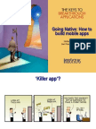 Going Native How to Build Mobile Apps