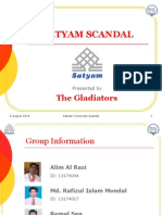 SATYAM SCANDAL Assignment