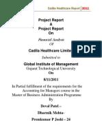 Cadilla Project Report