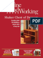 Shaker Chest Woodworking Plan