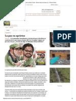 La Paz en Aprietos, Nación - Edición Impresa Semana