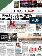 Periódico Norte edición del día 9 de agosto de 2014