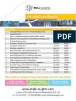iData Insights Research Report Catalouge - One Pager
