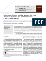 Flow Measurement Velocity Using Electrostatic Sensors