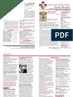 CDM Parish Bulletin Vol2014_16