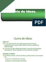 Tecnica Lluvia de Ideas