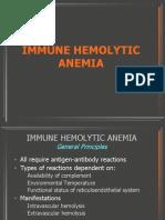 Autoimmune hemolytic anaemia