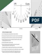 practice sundial
