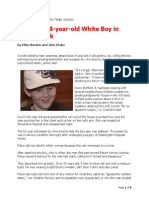 Black Kills 8 Year Old White Boy in Knife Attack