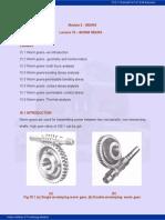 Worm Gear Calculation