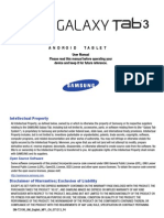 Samsung Galaxy Tab 3 7.0 User Manual