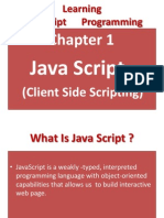 Chapter 1(JavaScript)