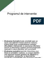 Programul de Interventie