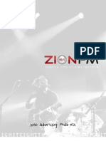 ZIONFM Radio Advertiser & Investor Media Kit