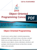 oops concept in java | object oriented programming in java