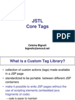 Good document on JSTL Core library