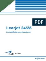 LR25 CockpitReferenceHandbook