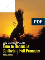 Farm Sector Complexities-Time to Reconcile Conflicting Poll Promises