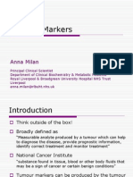 MSc Tumour Markers