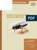 African Sleeping Sickness Report.
