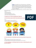 Cách Sử Dụng Mạo Từ Trong Ngữ Pháp Tiếng Anh