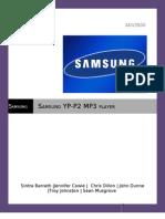 Samsung P2 Music Player