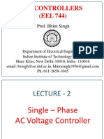L2. Single Phase Ac Voltage Controllers