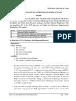 Order in the matter of Bharatiya Global Infomedia Ltd