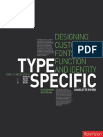 Type Specific - Designing Custom Fonts for Function and Identity by Charlotte Rivers