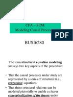 Introduction to CFA SEM Sept 19 2k5