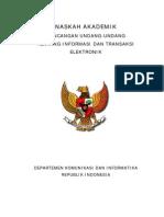 RUU Kebebasan Informasi dan Transaksi Elektroni