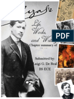 Rizal life and works Chapter Summary 17-25