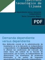 demanda dependiente