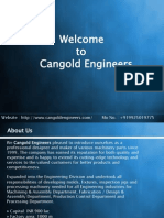 Cangold Engineers Presentation