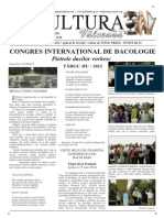 Cultura Valceana Iunie 2012 Pt Net