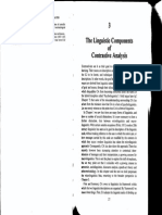 Contrastive Analysis - Chapter 3-1 Rotated