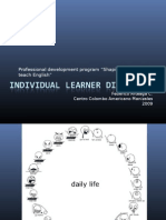 Individual learner differences - Module 11