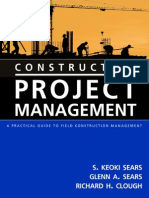 Cover & Table of Contents - Construction Project Management